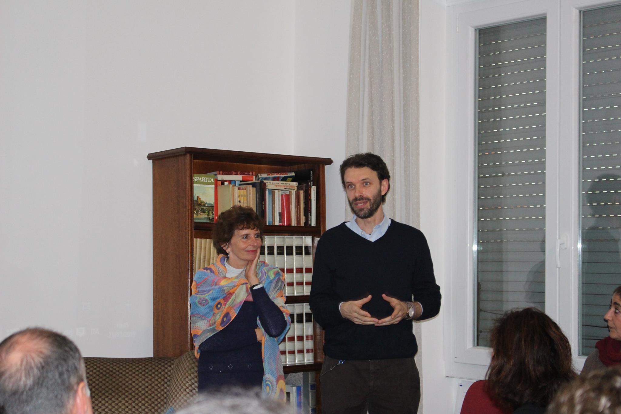 Cinzia Sabbatini  e Renè Manenti