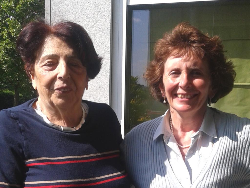 Cinzia Sabbatini  e Margalit Cohen Emerique