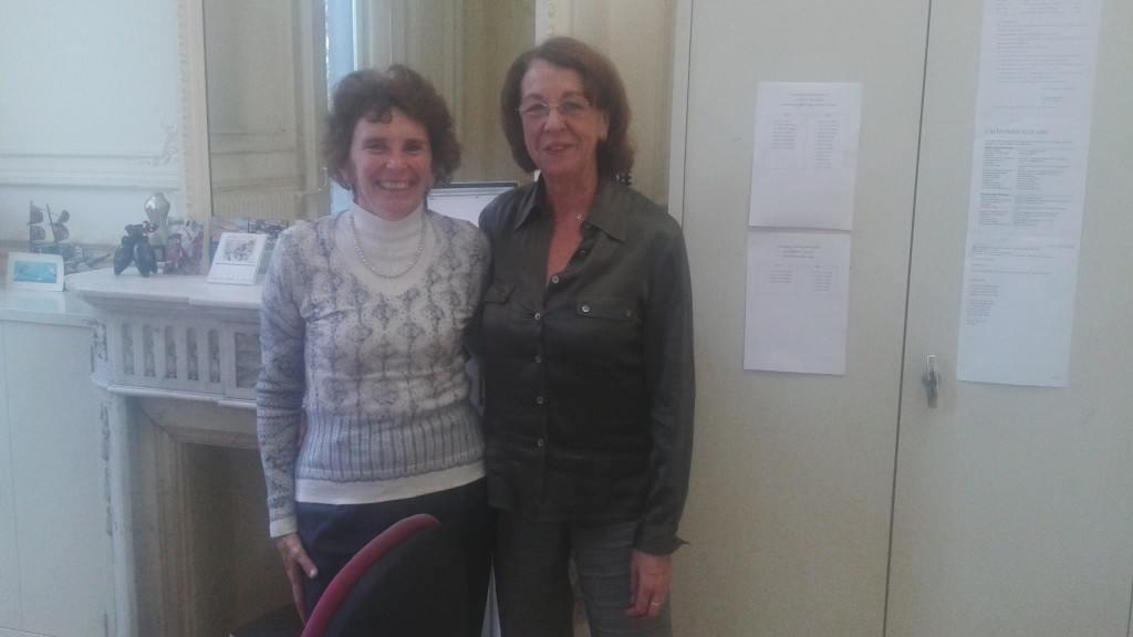 Cinzia Sabbatini e Christine Kulakowski